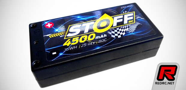 Stoff RC 4500mAh 80C LiPo shorty battery