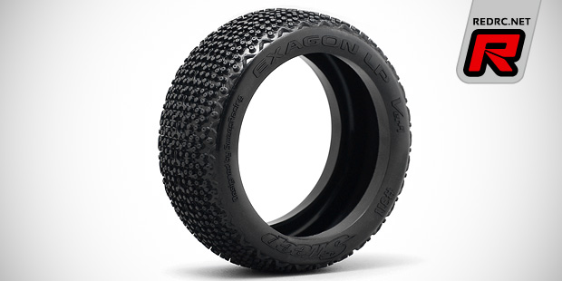 Sweep Exagon LP low profile 1/8th buggy tyre