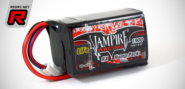 Vampire Racing 2S LiFe receiver battery packs