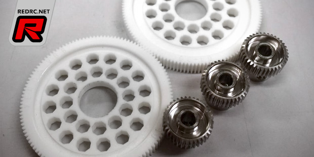Xenon Racing 84 pitch prototype gears