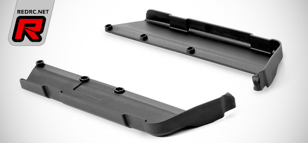Xray XB8 rib-less chassis side guards