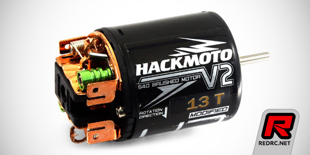 Yeah Racing Hackmoto V2 540-size brushed motors
