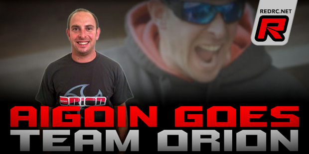 Jerome Aigoin joins Team Orion