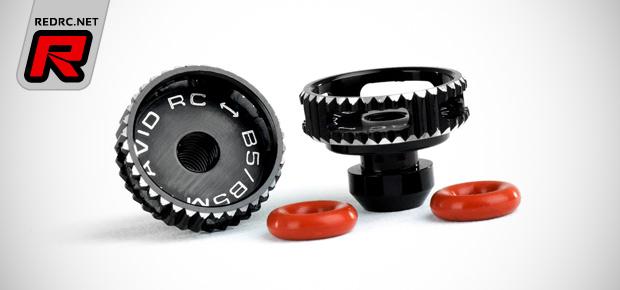 Avid B5 series aluminium battery thumbwheels