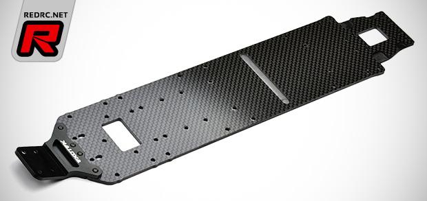 Exotek DEX210v2 carbon fibre main chassis