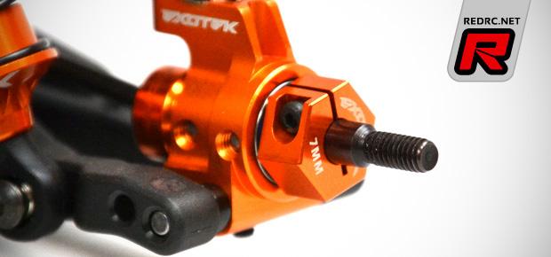 Exotek XB4 12mm rear hex adapters 7mm offset
