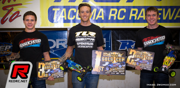 Dustin Evans victorious at 2014 Gold Cup