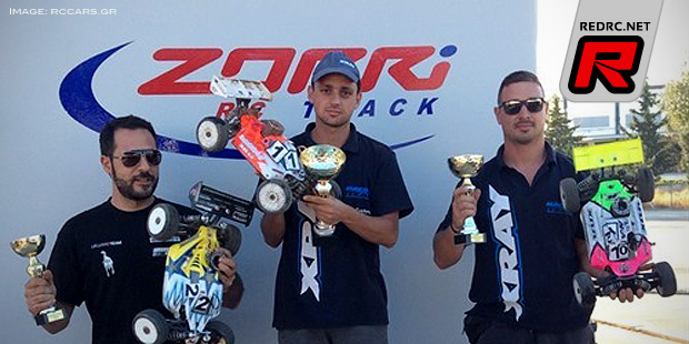 Tasos Paparegas wins Greek Buggy Championship