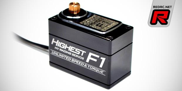 Highest RC F1 pan car servo