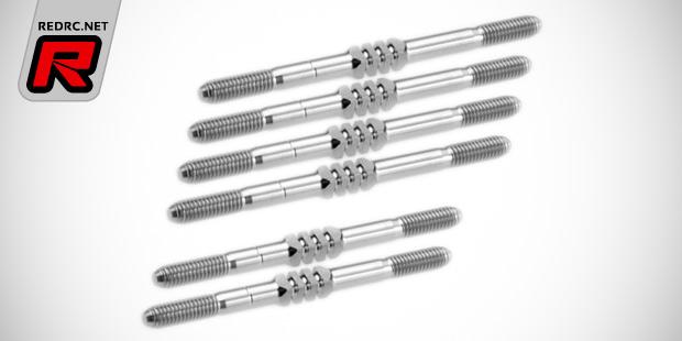 JConcepts TLR 22 & 22-4 Fin titanium turnbuckle sets