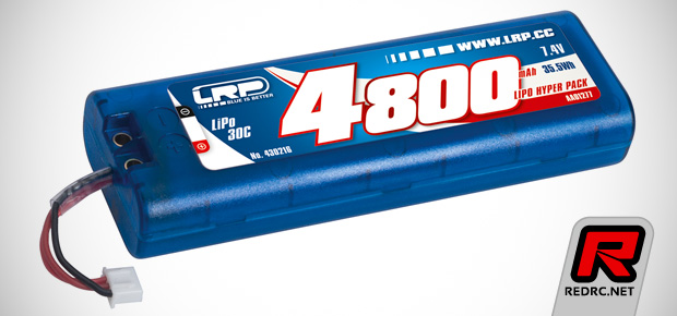 LRP LiPo Hyper & Power packs with multi plug