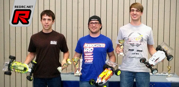 Patrick Hofer wins 4WD class at Indoor Race Leonberg