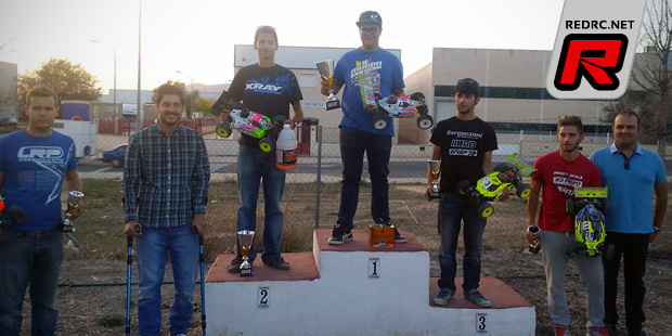 Oscar Baldo wins at Levante regional champs Rd1