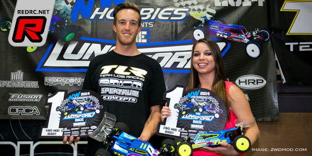 Dustin Evans doubles at Lunsford Race