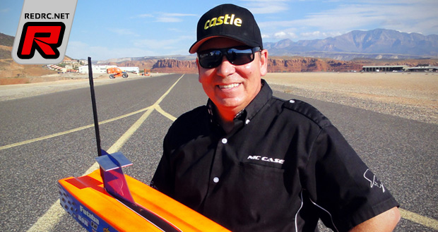 Nic Case breaks 200mph barrier