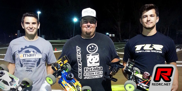 Mike Truhe doubles at Octoberfest Race