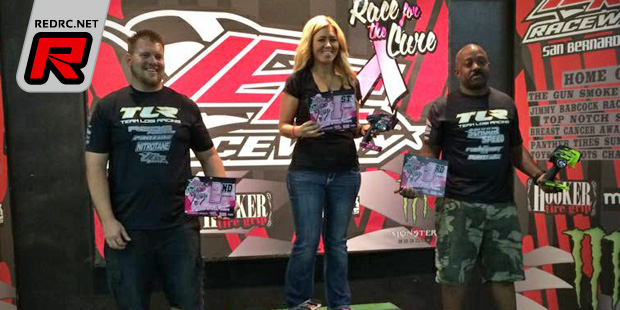 Ronda Drake TQ's & wins at Race for the Cure