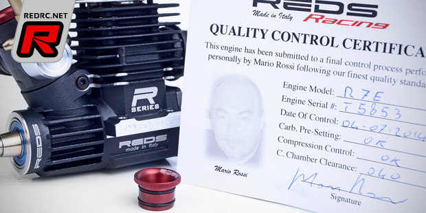 Reds Racing R7 & R5T JQ limited edition engines