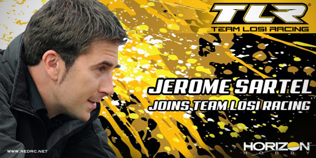 Jerome Sartel joins Team Losi Racing