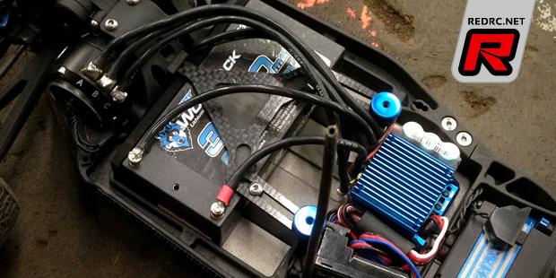 Schelle B5M carbon fibre battery strap