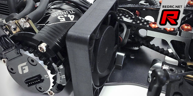 Serpent S411 motor fan mount