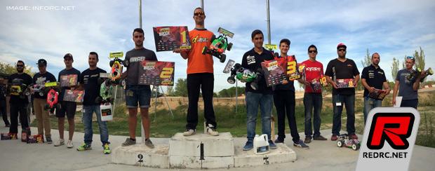 Borja Hernandez wins finale in Fuencarral