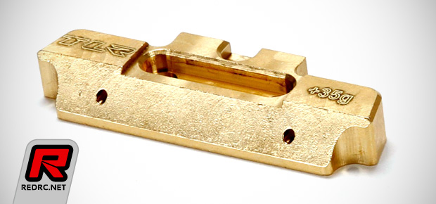 TLR 22-series 35g brass MM hinge pin brace