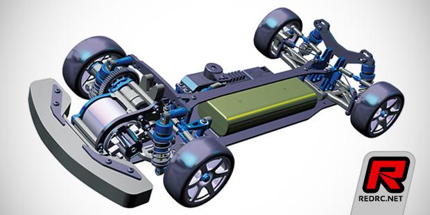 Tamiya FF-04 Evo FWD chassis kit