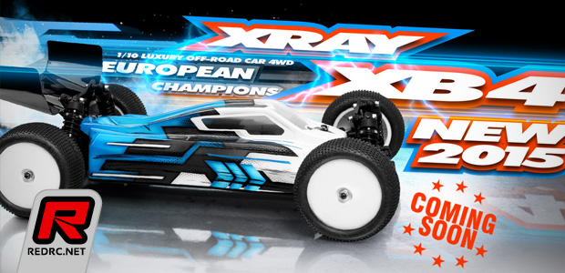 Xray XB4 2015 Spec 4WD buggy – Coming soon