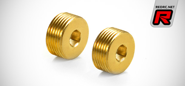 Xray XB8 steering knuckle brass adjusting nut
