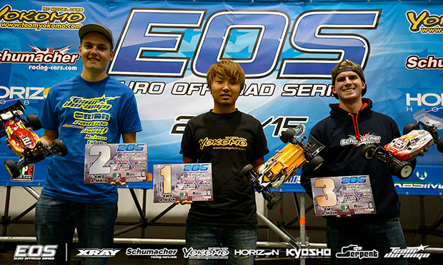 Matsukura completes 'perfect' EOS weekend