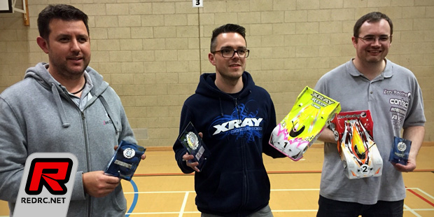 BRCA 1/12th scale nationals Rd2 – Report