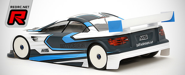 Bittydesign M15 190mm touring car bodyshell