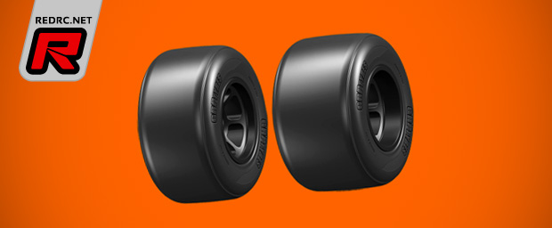 GRP pre-glued 1/10th formula tyres