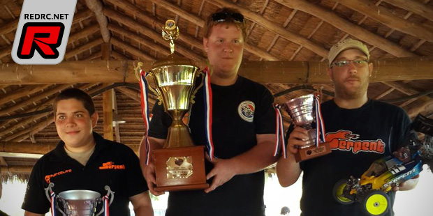 Manuel Dressler wins Paraguay National Champs