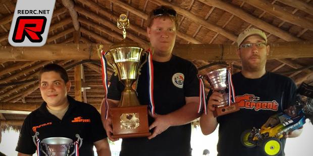 Manuel Dressler wins Paraguay National Champs