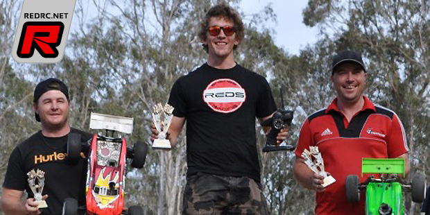 Aaron Stringer wins Truggy at Queensland State Titles