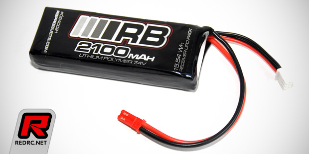 RB receiver LiPo battery packs