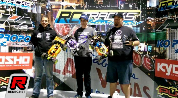 Tessmann & Savoya win at RC Tracks Las Vegas Opening Race