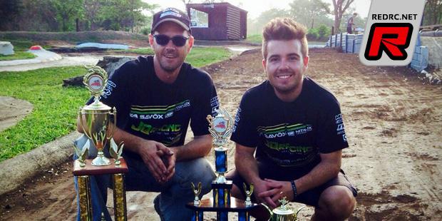 Haasbroek & Schmuck win South African 1/8th titles