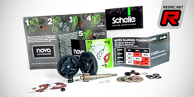 Schelle RB6 Nova slipper clutch & aluminium topshaft
