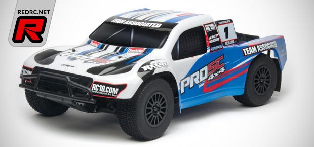 Team Associated announce new ProSC 4x4 RTR kits
