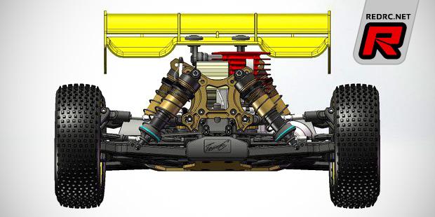Team C TM8 1/8th nitro buggy coming soon