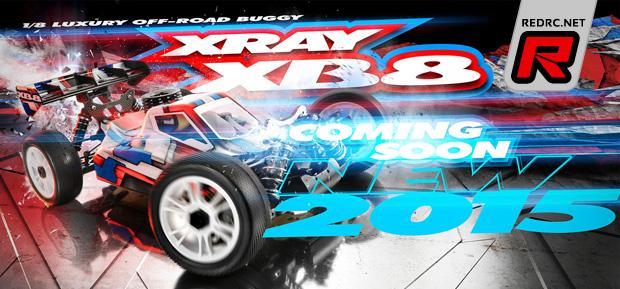Xray XB8 2015 – Coming soon