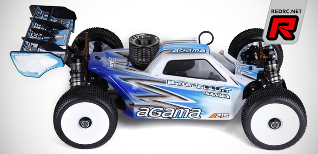 Agama A215 1/8th nitro buggy kit