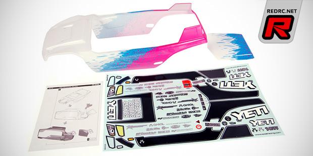 Axial Yeti pre-painted bodyshell