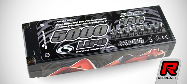 CS-Electronic 5000mAh 35C LiPo battery pack
