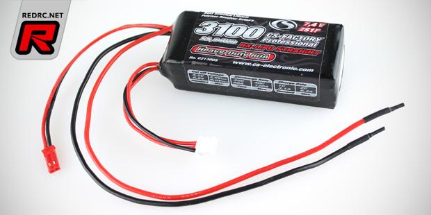 CS-Electronic 2S 3100mAh Heavy Duty receiver battery