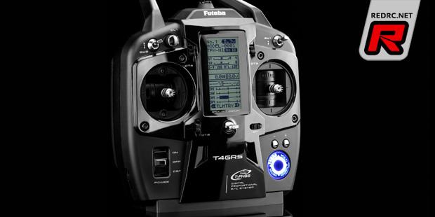 Futaba T4GRS 2.4GHz T-FHSS stick transmitter