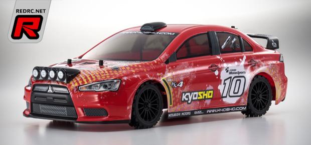 Kyosho Fazer VE-X Lancer Evolution RTR kit
